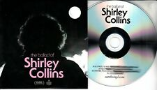 THE BALLAD OF SHIRLEY COLLINS OST 2018 UK 21-trk promo test CD Dolly Collins