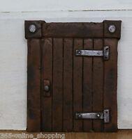 """LARGE 6"""" HOBBIT OR FAIRY DOOR ELF TREE DECORATION GARDEN HOME ORNAMENT"""