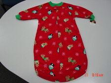 NWT Carters Infant Baby Sleepbag Sleepsack Unisex Christmas Theme