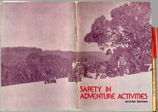SAFETY in ADVENTURE ACTIVITIES School Camps Boy Scout +