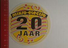 Aufkleber/Sticker: Mikro Elektro 20 jaar (210117177)