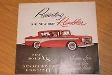 Rambler 1957 190 HP V8 GAMMA COLORI vendita cartella CUSTOM CROSS COUNTRY ETC