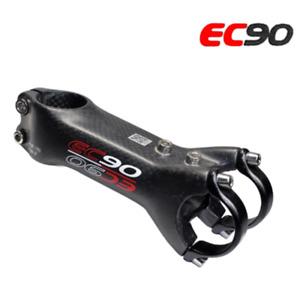 EC90 Carbon 6° MTB Road Bike Stem 28.6 - 31.8mm Riser Bicycle Stem Rod 70-120mm