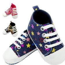 Chaussures Bébé Basket anti-dérapant semelle souple tout-petit vif en toile
