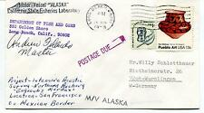 Motor Vessel Alaska Dept. Fish and Game Long Beach Polar Antarctic Cover SIGNED