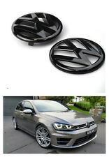 VW Replacement GRILLE/HATCH Badge for VOLKSWAGEN GOLF 7 MK7 MKVII GTI R GLOSS