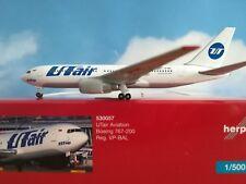 Herpa  Wings 1:500 530057  UTair Boeing 767-200