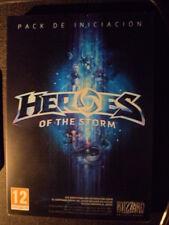 Heroes of the Storm Pack de Iniciación PC Nuevo Rol táctico en castellano.