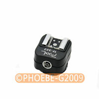 TF-322 Nikon i-TTL Flash Hot Shoe to PC Sync Adapter