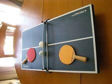 MINI TABLE DE PING-PONG de la marque TECHNO PRO + 2 raquettes, 2 balles, filet
