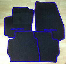 Autoteppich Fußmatten  für Ford Mondeo 2000'-2006' schwarz blau Neuware 4teilig
