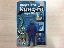 1985 Lanard Toys Dragon Force Kung-Fu DragonMaster Blue Vintage Action Figure