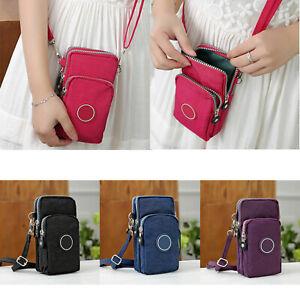 Cross-body Mobile Phone Shoulder Bag Pouch Case Handbag Purse Wallet Ladies