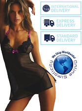 Hot Women's Lingerie Babydoll Lace Dress Nightwear G-string Sleepwear Underwear
