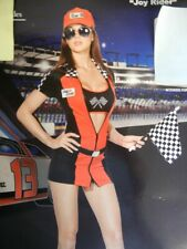 Sexy Race Car Girl Racecar Woman Halloween Costume - Fantasy Outfit - Size: L