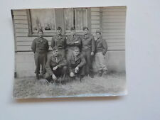 WWII Photo Japanese American Soldiers Photograph World War Two WW II VTG NR WW2