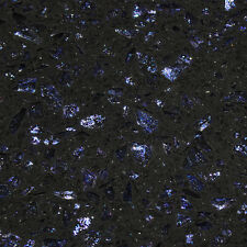 Cosmos black sparkly tiles with blue flecks - SAMPLE