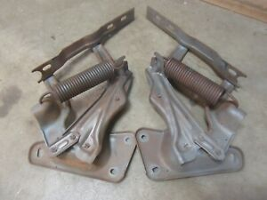 1973-1980 Chevrolet C10 truck front hood hinge pair set hot rod rat rod k10 K20