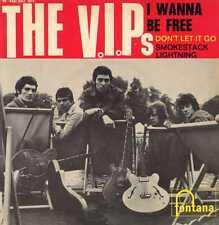 "V.I.P.'S ""I WANNA BE FREE"" ORIG FR EP 1965 EX"