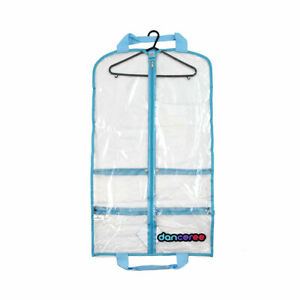 10% OFF Clear Standard Costume Bag - Blue Trim - Pack And Protect Your Costumes