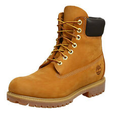 TIMBERLAND 6 INCH PREMIUM BOOTS. WHEAT YELLOW NUBUCK, 14.5 UK, 50 EU, NEW