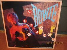 """David Bowie""""Let'S Dance""""1983 Emi Record Store Promo Poster on Foamcore Near Mint"""