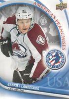 2011-12 Upper Deck National Hockey Card Day USA #1 Gabriel Landeskog Avalanche