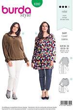 Burda Style SEWING PATTERN 6392 Plus Size Blouse Sizes 20-30