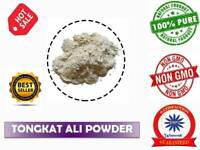 100% Pure Tongkat Ali Powder Eurycoma longifolia TESTOSTERONE BOOSTER GAINS 25g