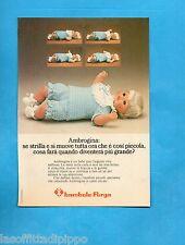 TOP975-PUBBLICITA'/ADVERTISING-1975- FURGA - BAMBOLA AMBROGINA