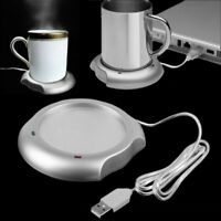 USB Insulation Coaster Heater Heat Insulation Coffee Cup Mug Mat Pad Coaster 6k
