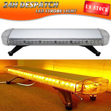"30"" 56 LED Emergency Warning Strobe Light Bar Car Top Response Signal Amber"