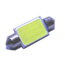 1 bombilla 42mm C10W LED COB 12 Chip Blanco puro , gran calidad 6000k coche led