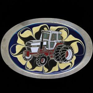 Cih Case IH International 2350 Farmer Farm Tractor 80s NOS Vintage Belt Buckle