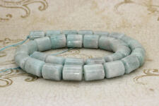 Amazonite Round Smooth Cylinder Barrel Tube Natural Gemstone Beads