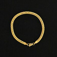Gold Plated Cuban Link Thin Bracelet