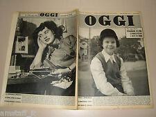OGGI=1954/13=ERIKA BARBERA=GINO FARNETTI=KIRK DOUGLS=ANNA MARIA MONETA CAGLIO=