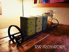wrought iron kitchen rack