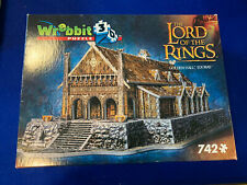 Wrebbit 3D Puzzle The Lord of the Rings Golden Hall Edoras