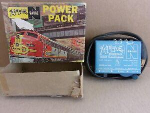 r  ATLAS  N gauge  POWER PACK    ORIGINAL BOX  USED?