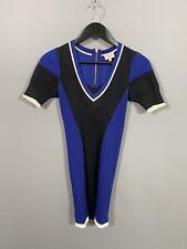 KAREN MILLEN BODYCON Dress - Size 1 UK8 - Great Condition - Women's