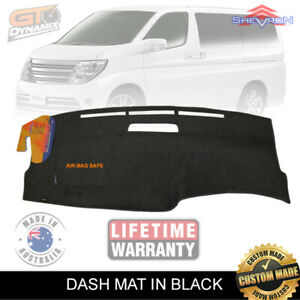 Dash Mat Nissan Elgrand E51 Suits all Models from 2002 to 2010 in BLACK DM1379