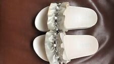 Lelli Kelly Kids Whore Pearl Detail Sliders -Size 13