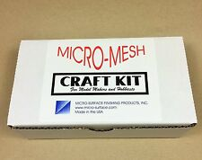 Woodturning - MICRO MESH CRAFT KIT