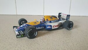 ONYX / F1 '92 -  WILLIAMS FW14B - NIGEL MANSELL - 1/24 SCALE MODEL CAR
