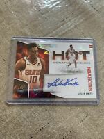 2020-21 Panini Nba Hoops Jalen Smith Hot Signatures Rookie Auto Red 15/25 Suns