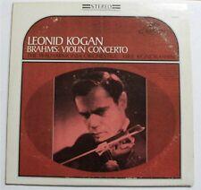 Leonid Kogan - Brahms: Violin Concerto - S-60059 Stereo - Seraphim LP