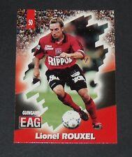PANINI FOOTBALL CARD 98 1997-1998 LIONEL ROUXEL EN AVANT GUIGAMP ROUDOUROU EAG