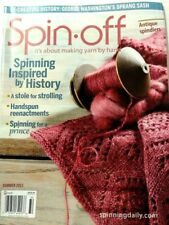Spin-off magazine summer 2013: collars, baby beanies, stole, sprang sash