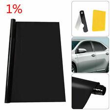 ULTRA LIMO BLACK 1% CAR WINDOW TINT ROLL 50cm x 3M FILM TINTING UK